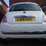 Fitted Fiat 500 Rear Parking Sensors