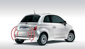 Fiat 500 parking sensors